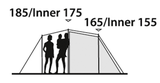 Outwell |  Prescot 500 | Tunneltent | 5 Persoons |SALE_