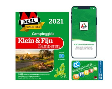 ACSI | Campinggids Klein & fijn Kamperen | 2021