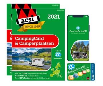 ACSI | CampingCard & Camperplaatsen | 2021