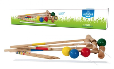 Outdoor Play Croquetspel