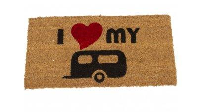 Deurmat I Love My Caravan